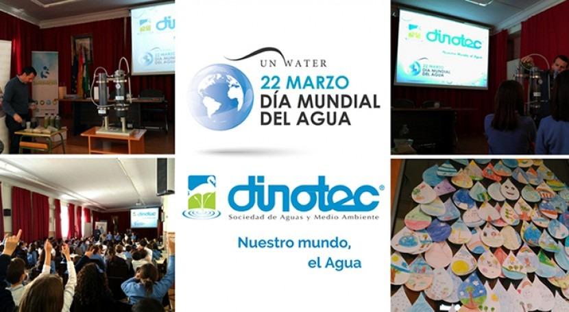 DINOTEC vuelve colegios celebrar Semana Mundial Agua