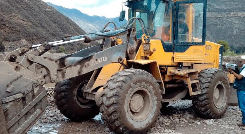 ANA realiza operativo erradicar extracción ilegal material acarreo río Vilcanota