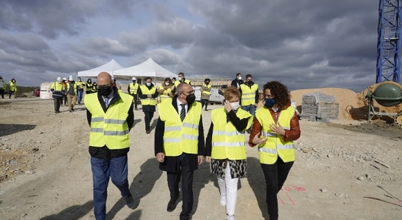 nueva estación depuradora Agurain evitará vertidos más problemáticos CAE