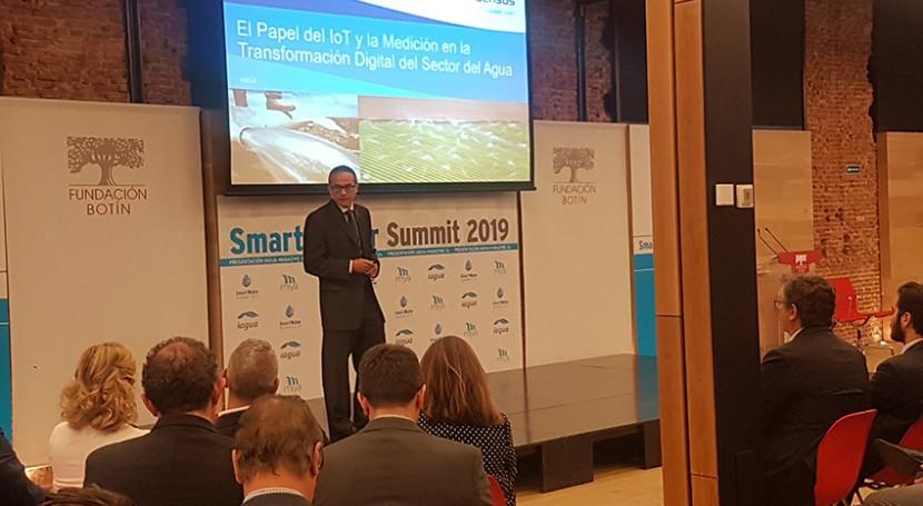 Sensus España participa Smart Water Summit 2019