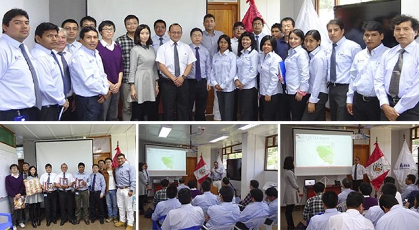 Delegación República Popular China visita cuenca Madre Dios
