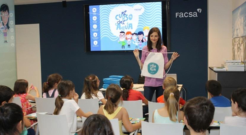 FACSA arranca segundo año ' Curso Agua' escolares primer ciclo primaria