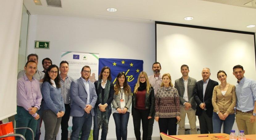 socios proyecto LIFE STO3RE exponen avances técnicos segunda reunión