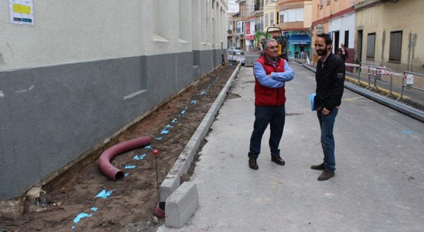 Borriana termina 2ª fase obras renovación redes agua potable y alcantarillado