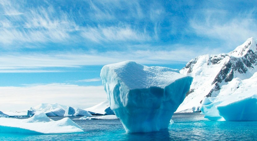 calentamiento antropogénico podría asociarse al deshielo antártico