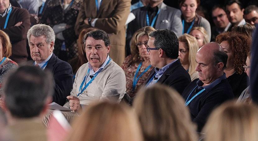 última aparición pública González, hace mes Asamblea espionaje