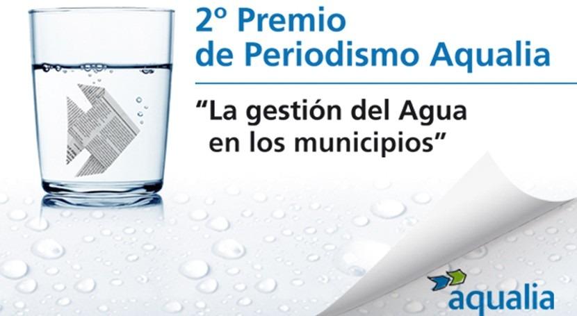 Cuarenta trabajos compiten 2º Premio Periodismo Aqualia