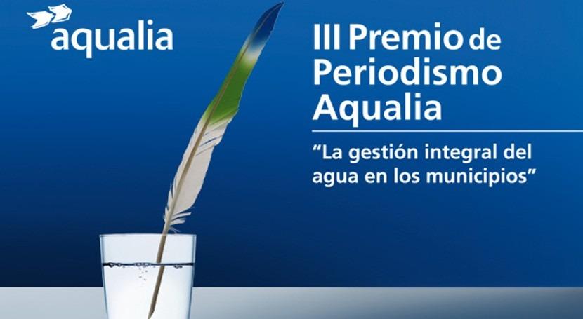 25 autores compiten III Premio Periodismo Aqualia