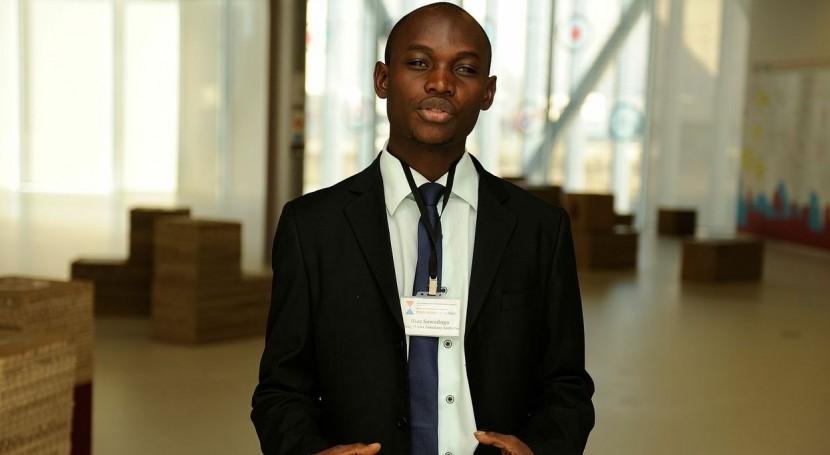 Ilias Sawadogo, coordinador de África del World Youth Parliament for Water.