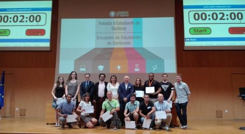Héctor Macián, IIAMA, obtiene premio al mejor póster Estudiante Doctorado UPV