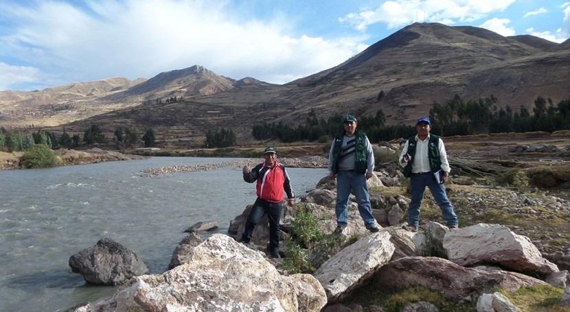 ANA Perú realiza monitoreo participativo cuenca Urubamba Vilcanota