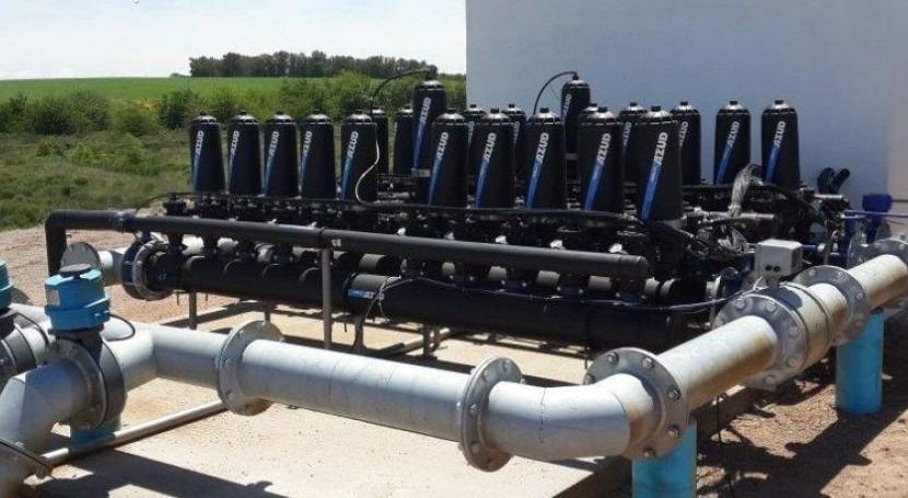 Tecnología al servicio agricultura: experiencia AZUD riego aguas regeneradas