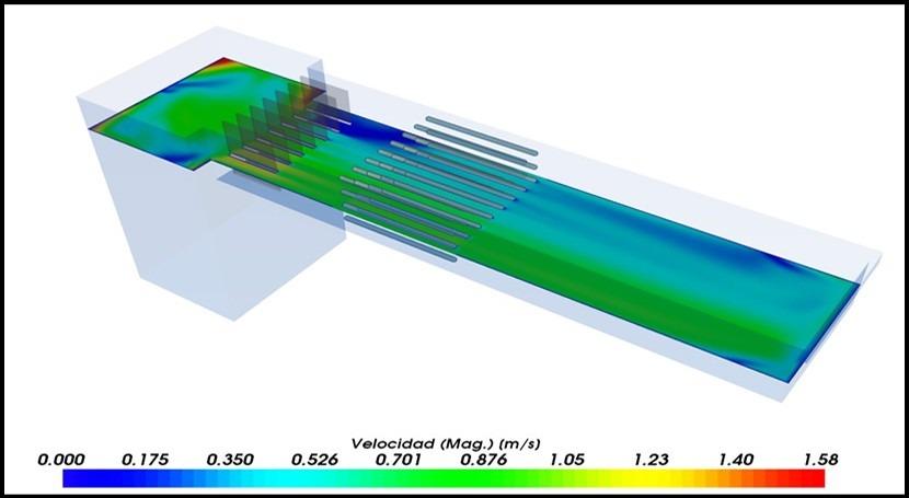 Segundo software simulación CFD procesos EDAR
