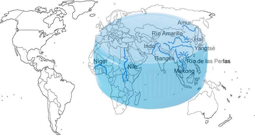 Diez ríos nuestro planeta aportan 95% total plásticos que llegan nuestros mares