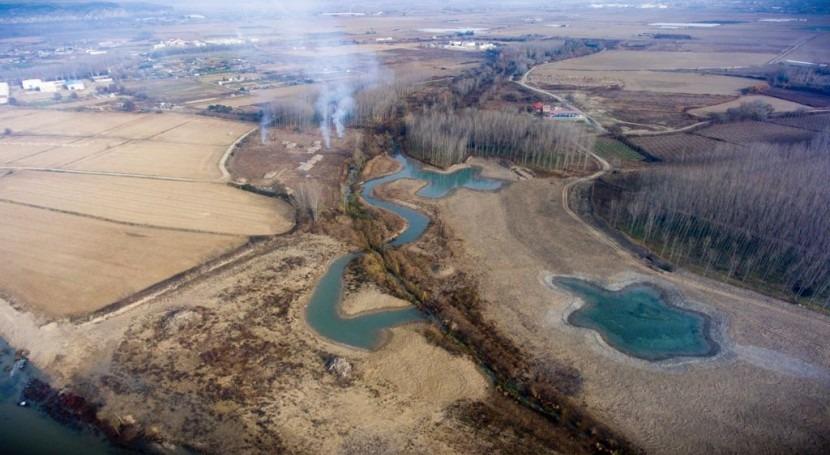 reconexión Soto Sardillas Arga: mayor actuación restauración fluvial España