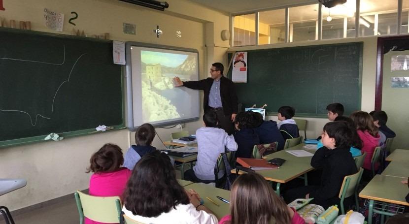 Acercando gestión agua alumnos CEIP San Prudencio Albelda Iregua ( Rioja)