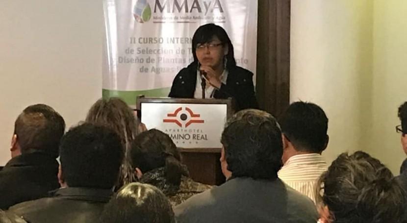 CENTA participa celebración Día Mundial Agua Bolivia