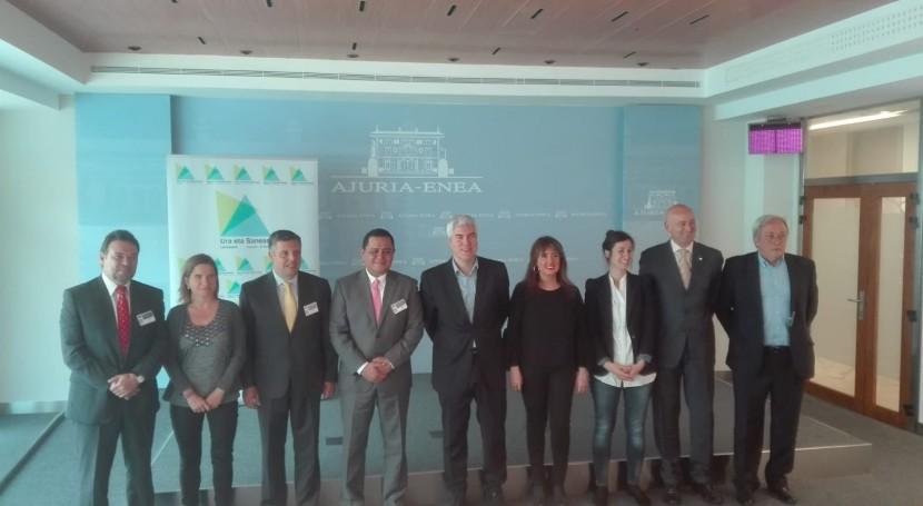 Euskadi facilitará asesoría y mejora infraestructuras agua y saneamiento Centroamérica