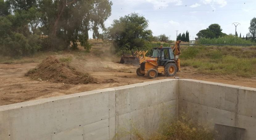 CHE inicia obras construcción filtro invertido pie presa Estanca