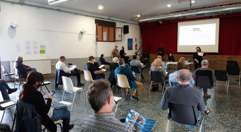 Ebro Resilience reúne interesados y afectados riesgo inundación Burgo Ebro
