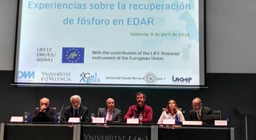 "Gran éxito workshop ""Experiencias recuperación fósforo EDAR"""