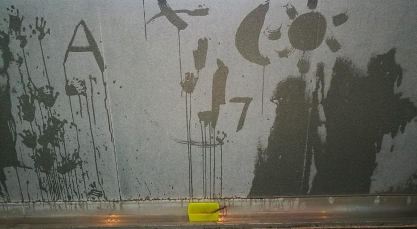Pinturas efímeras agua