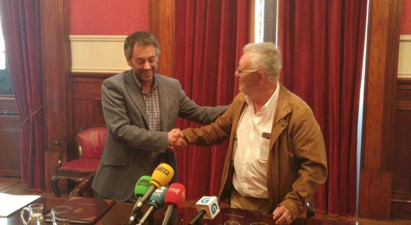 Emalcsa y Concello Cangas colaborarán diseño servicio agua más sotenible