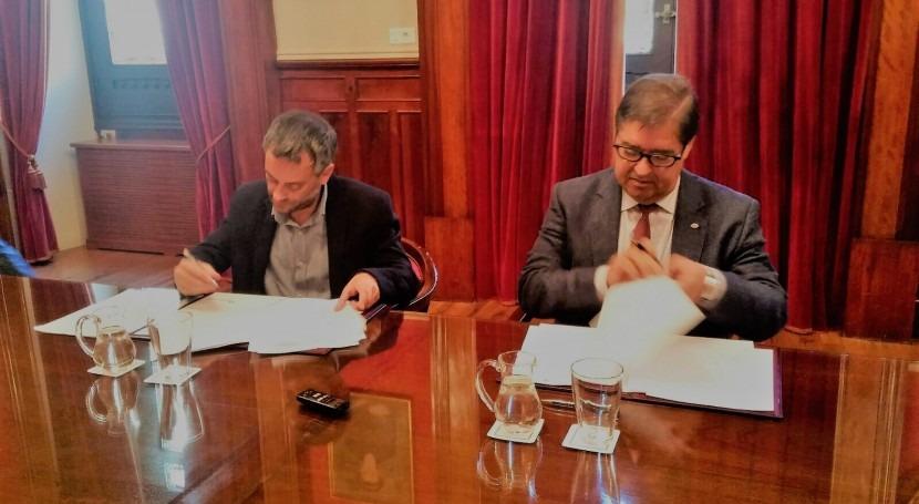 Emalcsa y Universidad Coruña estrechan colaboración Cátedra Emalcsa