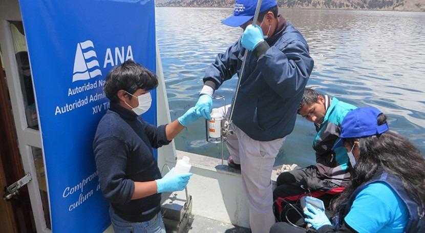 Perú y Bolivia ejecutan III Monitoreo Binacional Calidad Agua Titicaca