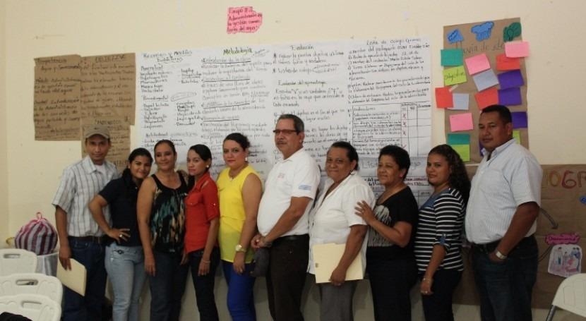 Nuevos docentes agua y saneamiento rural