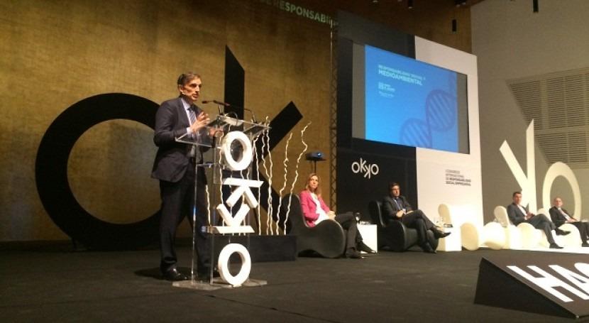 Aguas Alicante expone compromiso social y ambiental Congreso Internacional RSE OKKO