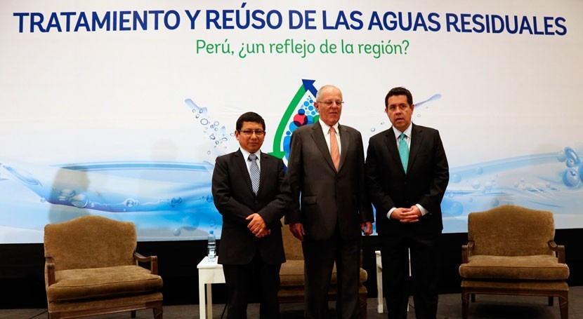 Inaugurado Congreso tratamiento y reúso aguas residuales Perú