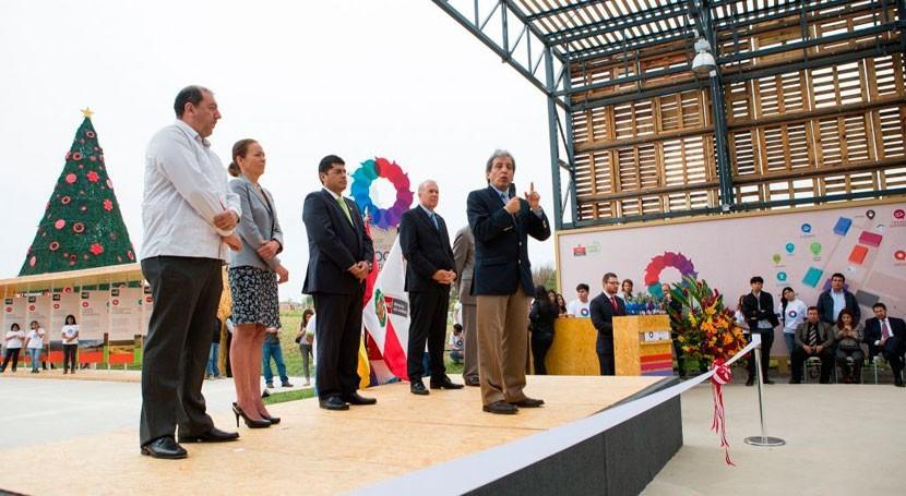 Inaugurado primer parque temático cambio climático