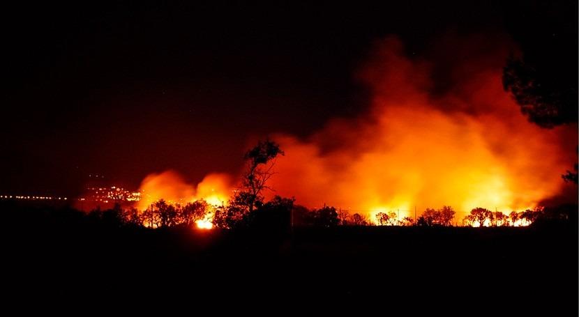 incendios fuera verano serán nueva norma cambio climático, WWF