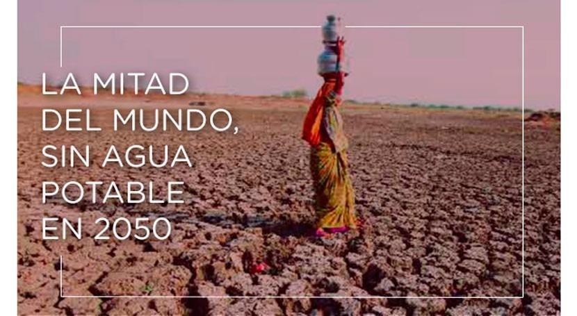 mitad mundo, agua potable 2050