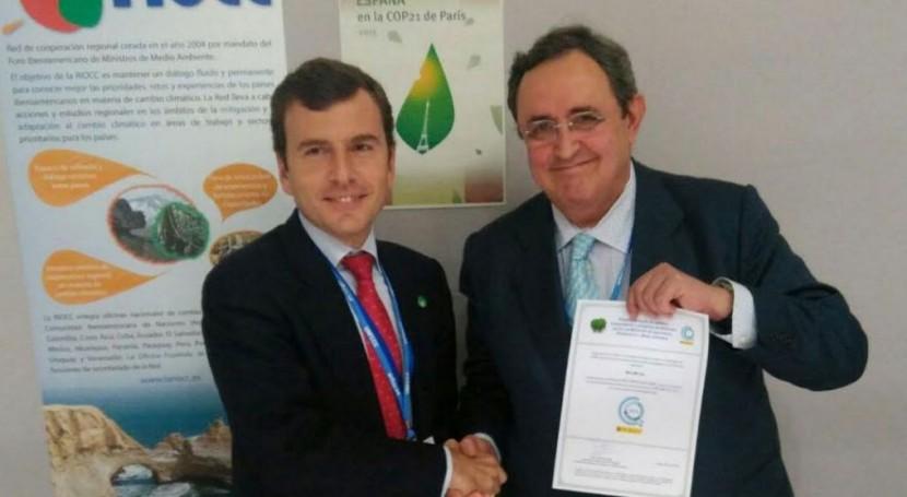 INCLAM, primera empresa recibir sello MAGRAMA compensar huella carbono