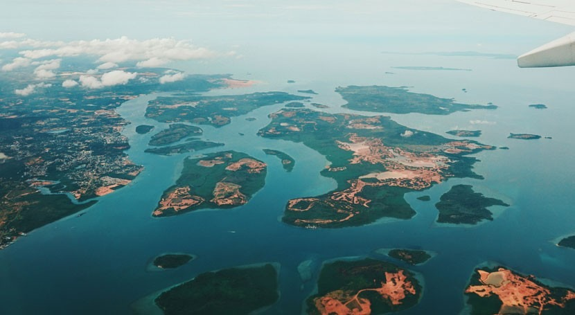 aumento nivel mar causa cambio climático se traga dos pequeñas islas Indonesia