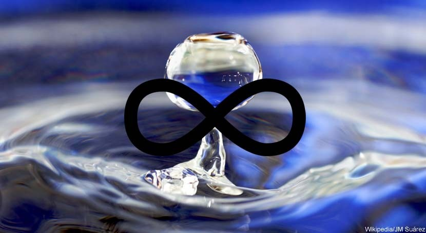 ¿Es infinita agua?