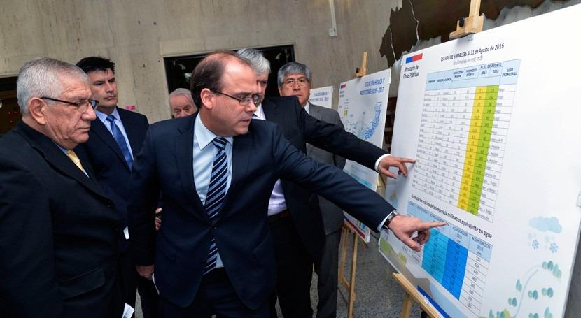 Chile publica informe situación hídrica país