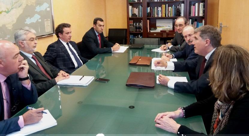 infraestructuras Castilla y León centran última reunión Confederación Tajo