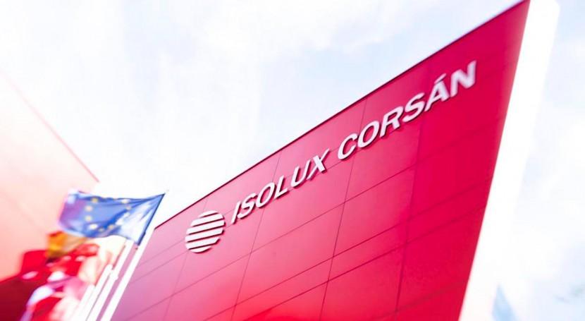 Isolux Corsán y 6 filiales, declaradas concurso acreedores