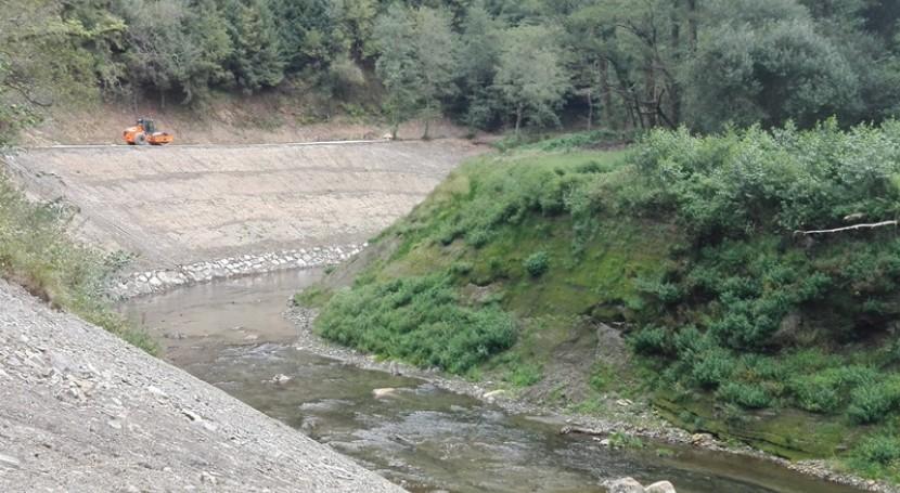 URA concluye consolidación márgenes previstas demolición presa Inturia