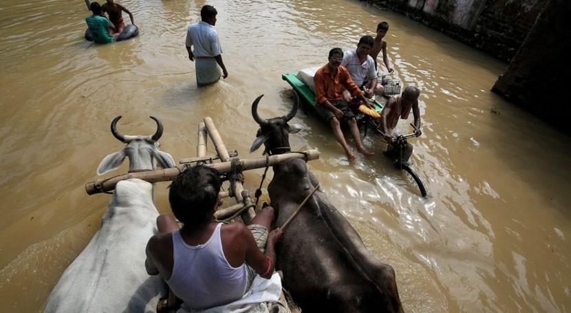 Más 130 muertos fuertes lluvias monzón norte India