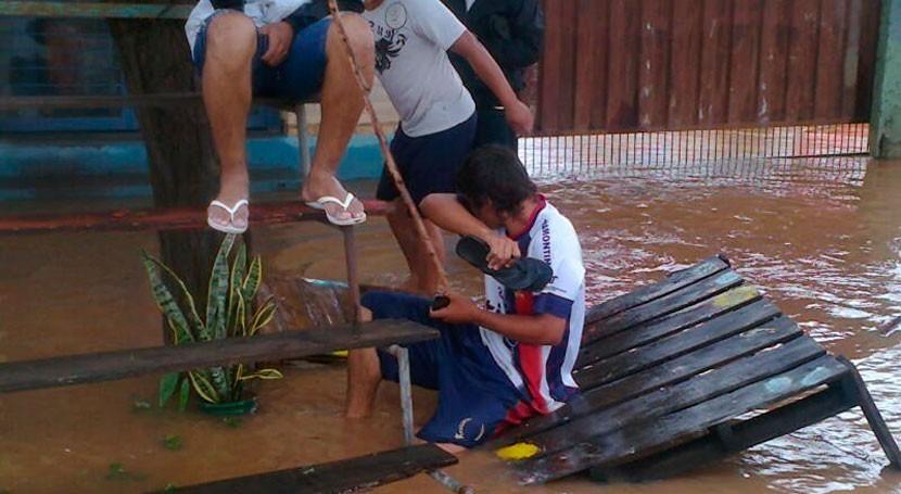ciudadanos Limpio, Paraguay, siguen aguardando solución evitar inundaciones