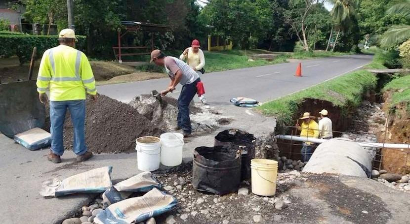 Panamá ejecuta limpieza drenaje pluvial Bugaba prevenir inundaciones