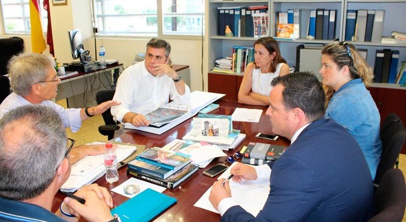 Se presentan medidas eliminar riesgo inundación zona sur Mar Menor