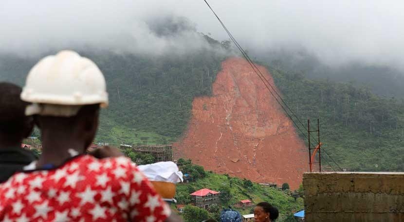 Encontradas 19 víctimas Guinea debido inundaciones y avalanchas Sierra Leona