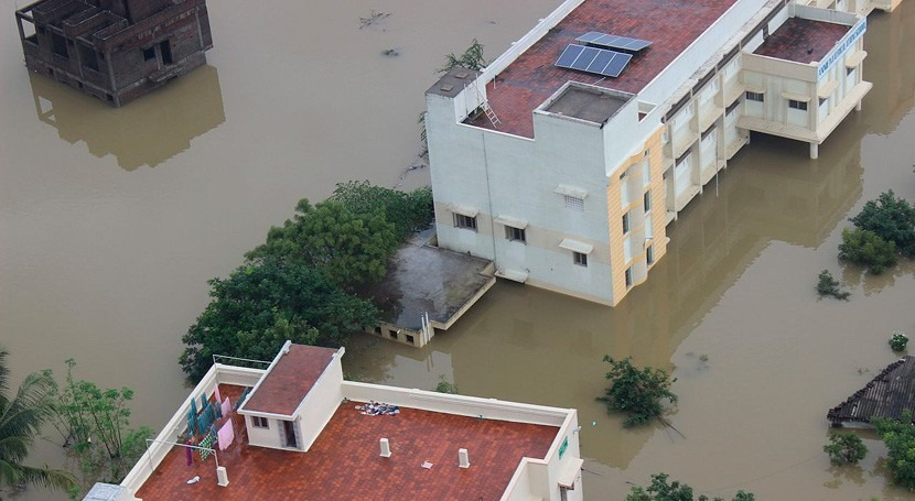 Más 20 muertos y 170.000 desplazados India inundaciones