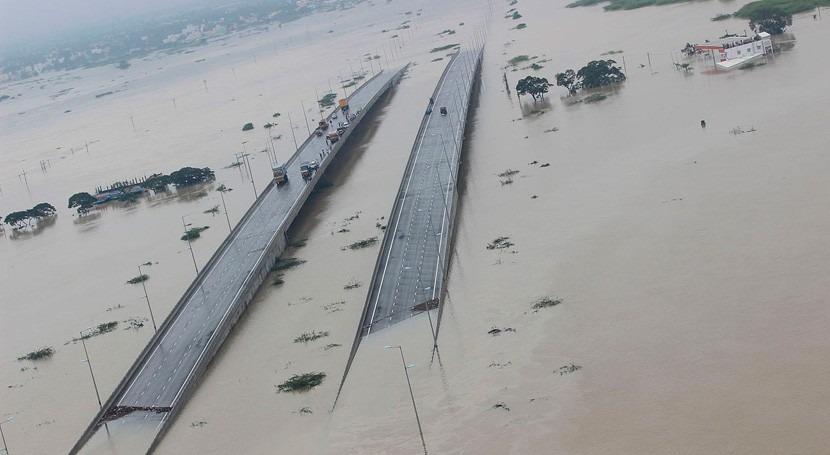 inundaciones al norte India dejan 27 muertos
