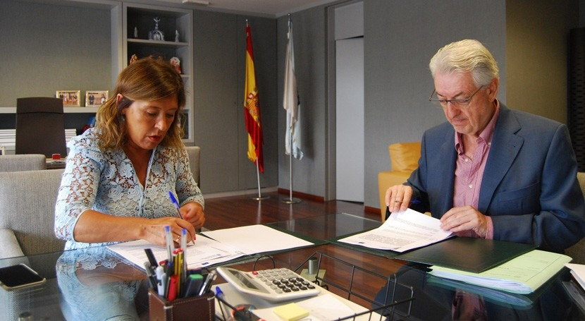 Gobierno gallego invierte 930.000 euros obras que evitarán inundaciones Valga